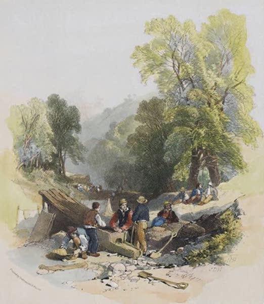 Views of the Gold Regions of Australia - Summerhill Creek, part of Church Hill (1851)