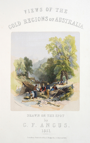 Views of the Gold Regions of Australia (1851)