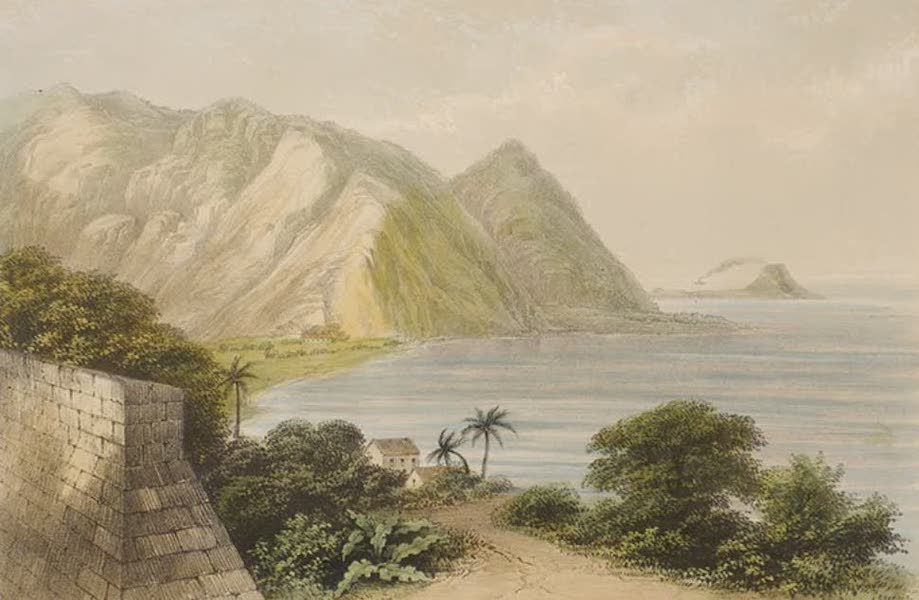 Views of the Island of Dominica - Point Michell and Scott's Head, from the Magazine Battery (1849)