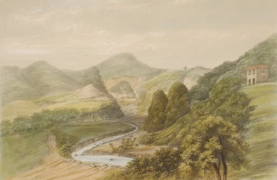 Views of the Island of Dominica - The Roseau Valley from the Hospital, Morne Bruce (1849)