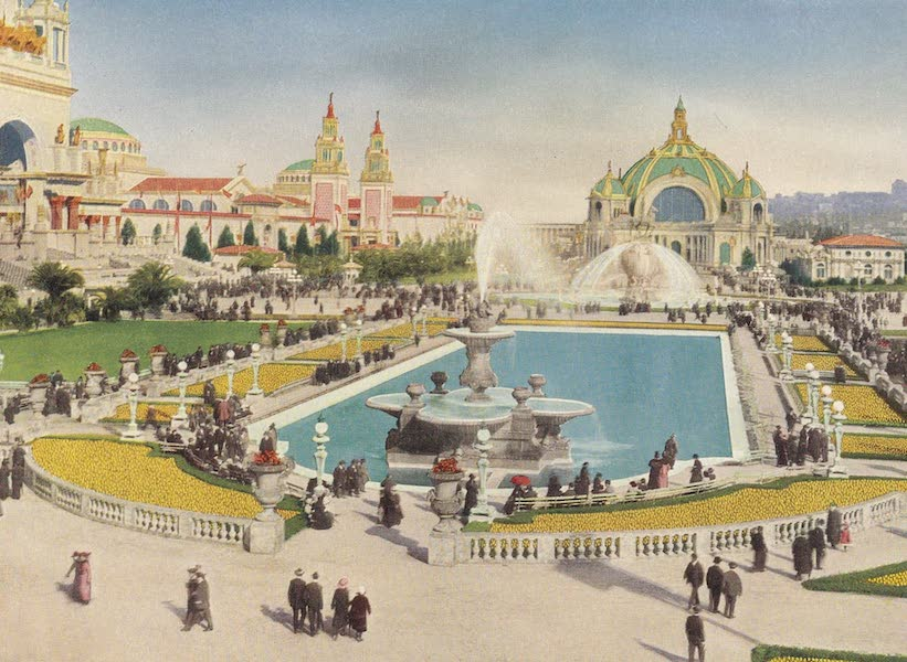 Views of the Panama Pacific International Exposition - [View No. 10] (1915)