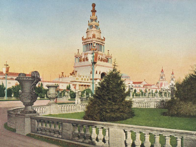 Views of the Panama Pacific International Exposition - [View No. 11] (1915)