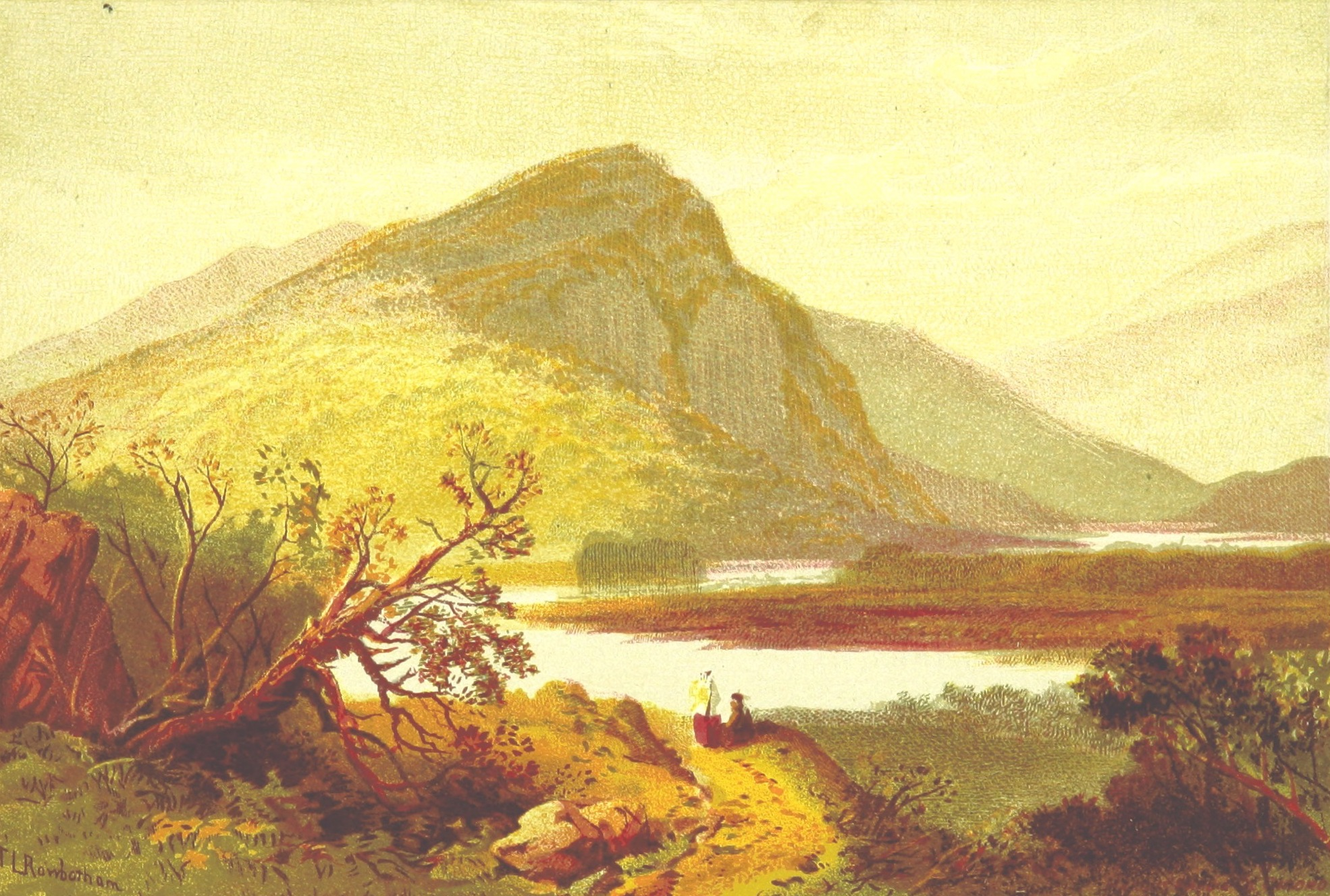 Views of Wicklow and Killarney - Eagle's Nest (1875)