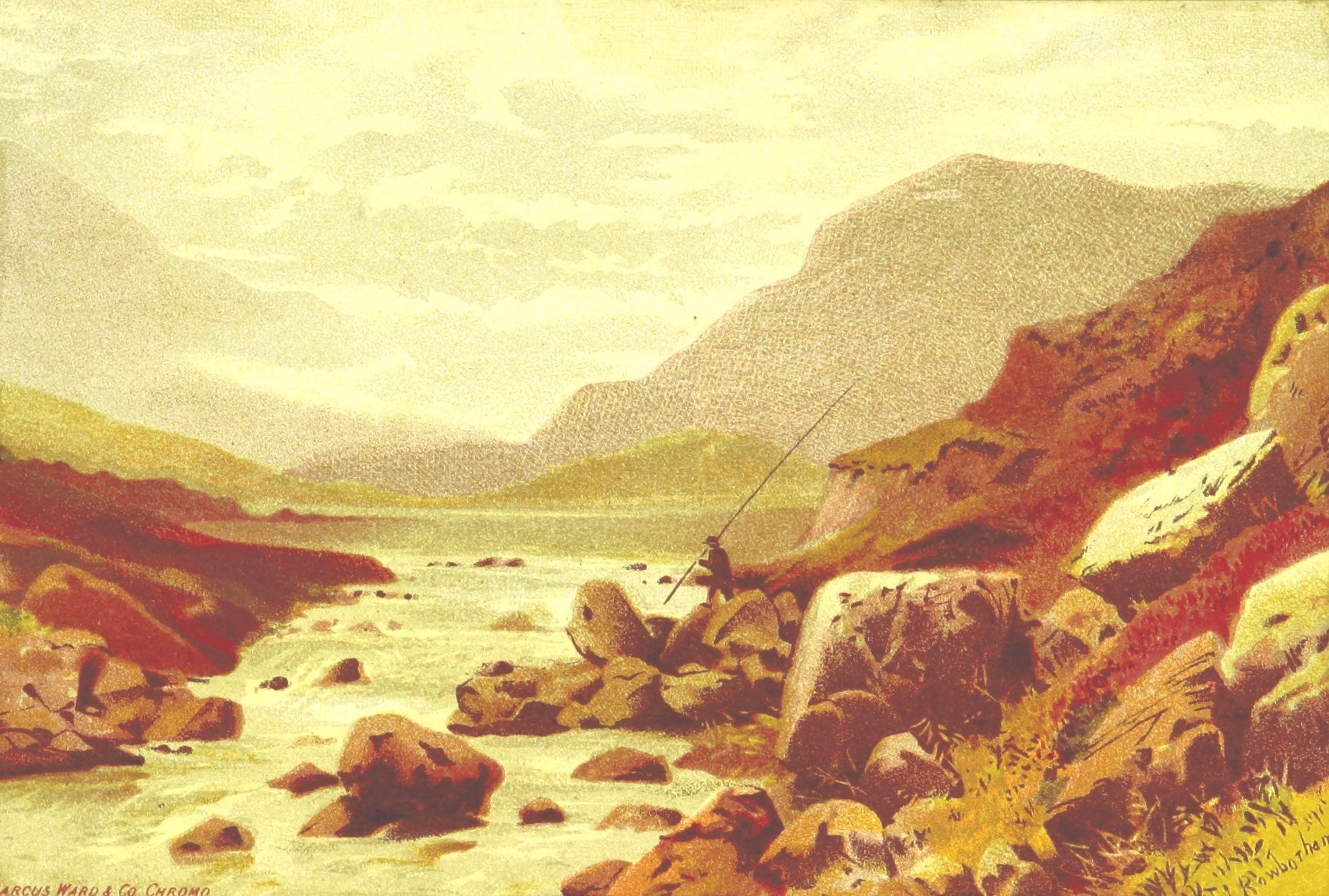 Views of Wicklow and Killarney - Gap of Dunloe (1875)