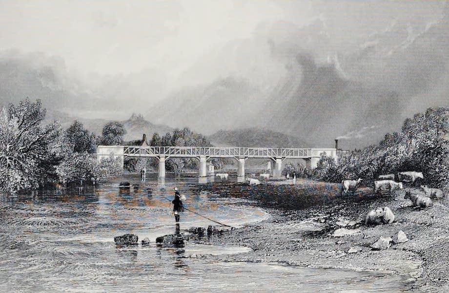 Views on the Newcastle and Carlisle Railway - Warden Bridge (1839)
