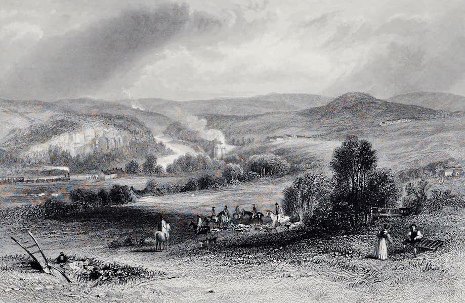 Views on the Newcastle and Carlisle Railway - Allerwash or Fourstones (1839)