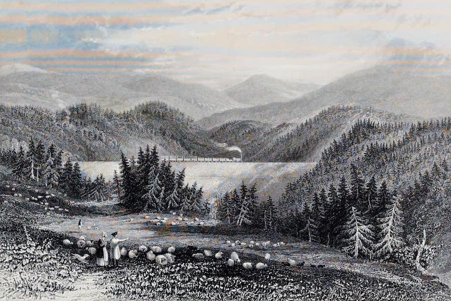 Views on the Newcastle and Carlisle Railway - Hell Beck Embankment (1839)