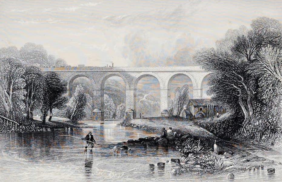 Views on the Newcastle and Carlisle Railway - Wetheral Bridge (1839)