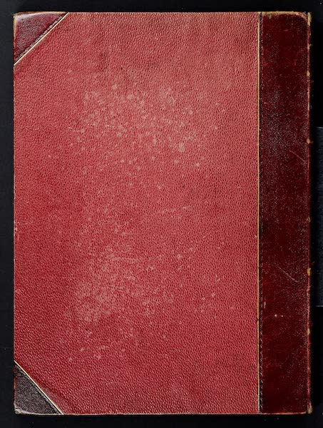 Views on the Newcastle and Carlisle Railway - Back Cover (1839)