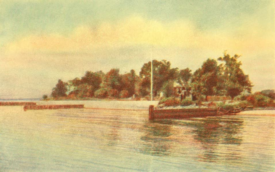 Virginia: the Old Dominion - Jamestown Island from the River (1921)
