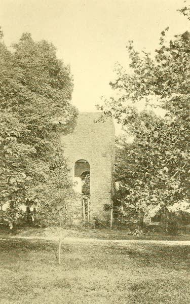 Virginia: the Old Dominion - The Ruined Tower of the Old Village Church (1921)