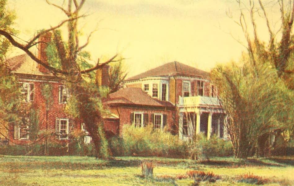 Virginia: the Old Dominion - Riverward Front of Brandon (1921)