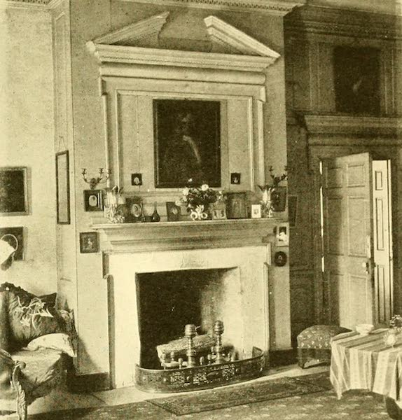 Virginia: the Old Dominion - The Drawing-room Fireplace (1921)