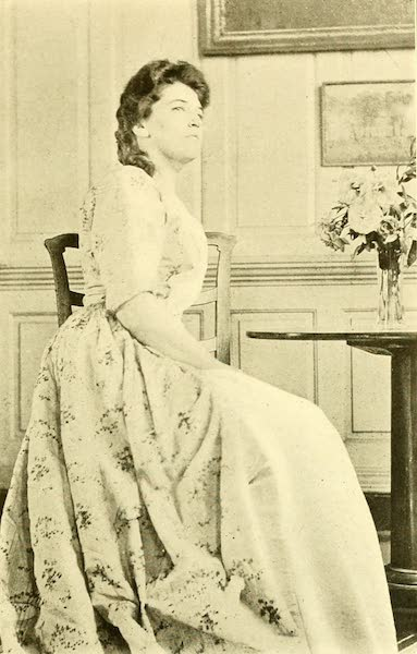 Virginia: the Old Dominion - Miss Harrison in the Court Gown of Her Colonial Aunt, Evelyn Byrd (1921)