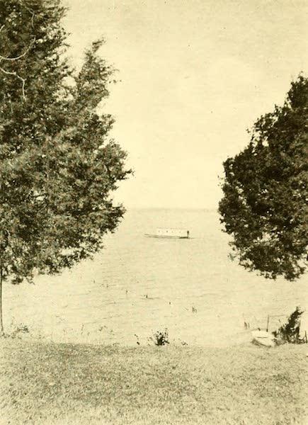 Virginia: the Old Dominion - At Anchor Off Weyanoke (1921)
