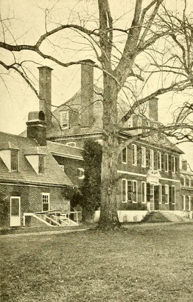 Virginia: the Old Dominion - Riverward Front of Westover (1921)