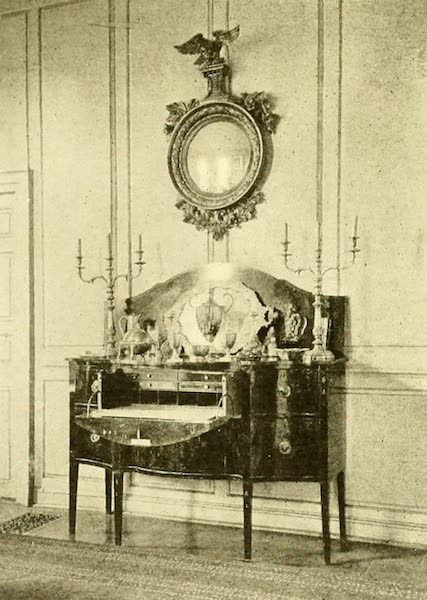Virginia: the Old Dominion - The Hepplewhite Sideboard With Butler's Desk (1921)