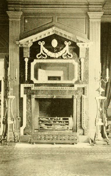 Virginia: the Old Dominion - The Drawing-room Mantelpiece at Westover (1921)