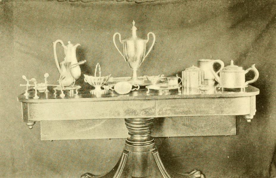 Virginia: the Old Dominion - Some Noteworthy Pieces of Old Shirley Plate (1921)