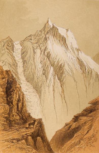 Visits to High Tartary, Yarkand, and Kashgar - Peak in the Kuen-Lun Range (1871)