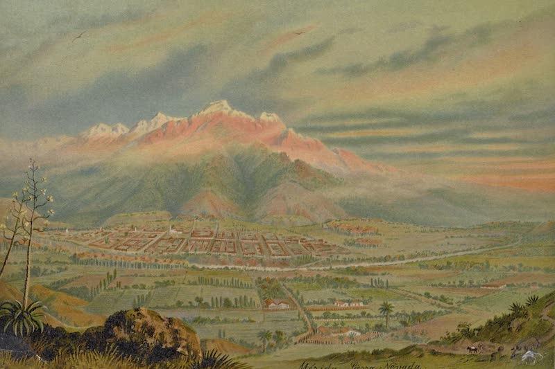 Merida mit der Sierra Nevada