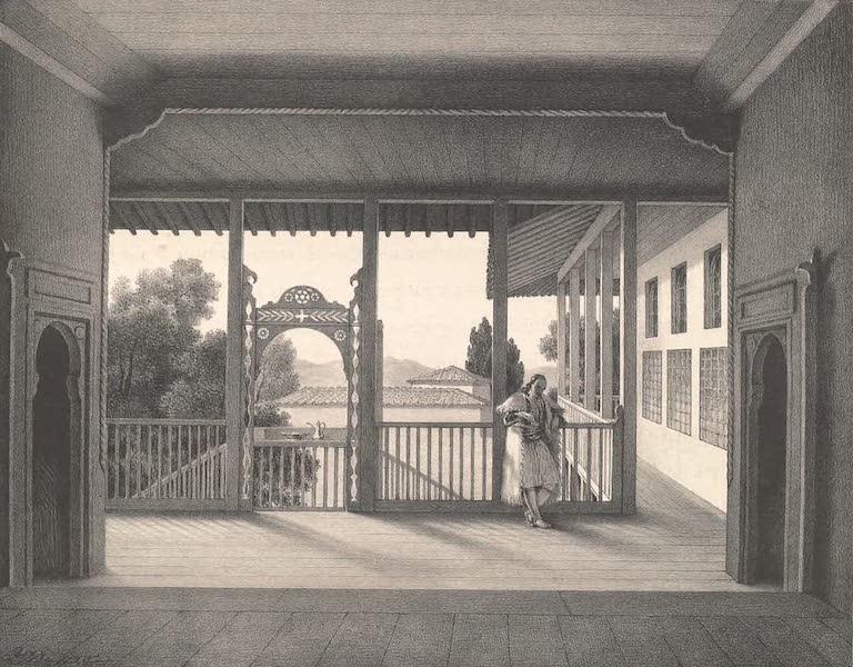 Voyage a Athenes et a Constantinopole - Une Maison Grecque a Turnavo en Thessalie (1825)