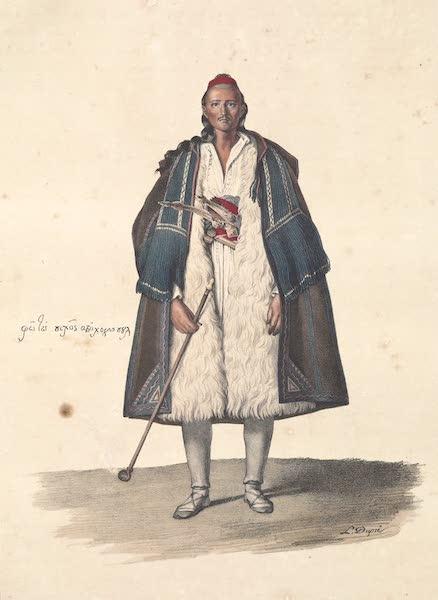 Voyage a Athenes et a Constantinopole - Photo Pikos du Pays de Suli (1825)