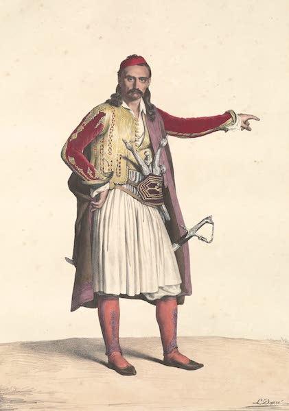 Voyage a Athenes et a Constantinopole - Palicare de la Selleide (1825)