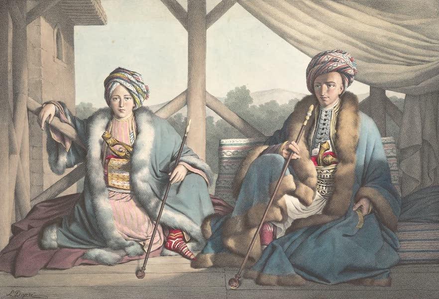 Voyage a Athenes et a Constantinopole - Ismael, Bey et Mehemet, Pacha, Fils de Veli, Pacha de Thessalie, et Petits-fils d'Ali-Tebeleu, Visir de Janina (1825)