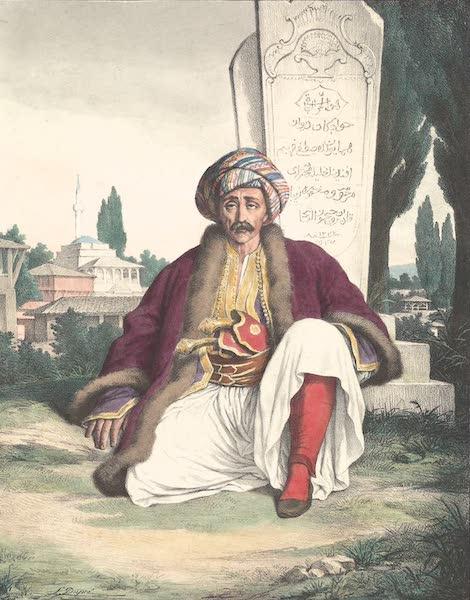 Voyage a Athenes et a Constantinopole - Le Garde des Sceaux d'Ali-Pacha (1825)
