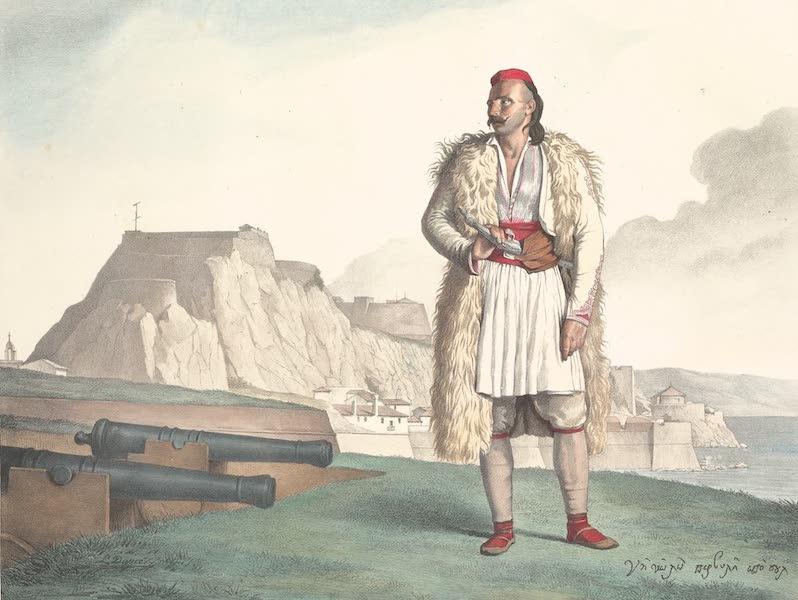 Voyage a Athenes et a Constantinopole - Un Suliote a Corfou Nicolo Pervoli (1825)
