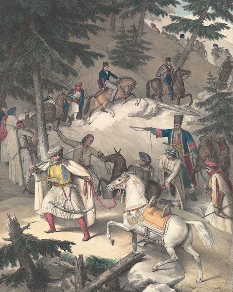 Voyage a Athenes et a Constantinopole - Le Pinde (1825)