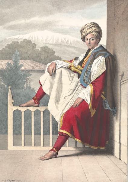 Voyage a Athenes et a Constantinopole - Un Page de Veli, Pacha de Chessalie (1825)