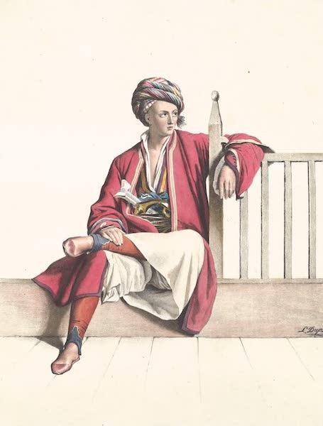 Voyage a Athenes et a Constantinopole - Jeune Grec Thessalien (1825)