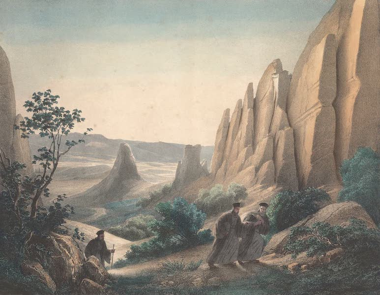 Voyage a Athenes et a Constantinopole - Les Meteores de Thessalie et le Pinde (1825)