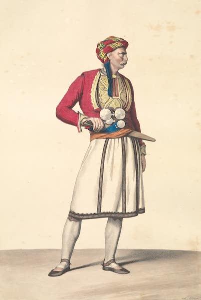 Voyage a Athenes et a Constantinopole - Un Boucher Albanis a Athenes (1825)