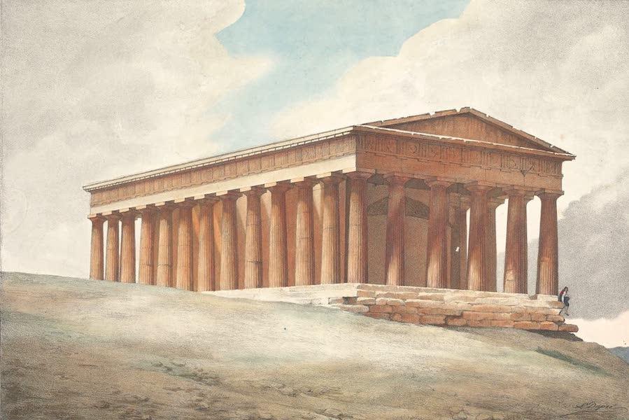 Voyage a Athenes et a Constantinopole - Le Temple de Thesee a Athenes (1825)