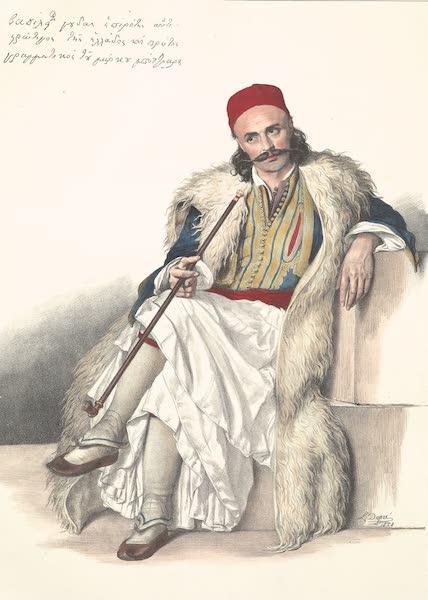 Voyage a Athenes et a Constantinopole - Vasili Gouda, Aide de Camp de Marco Borzaris (1825)