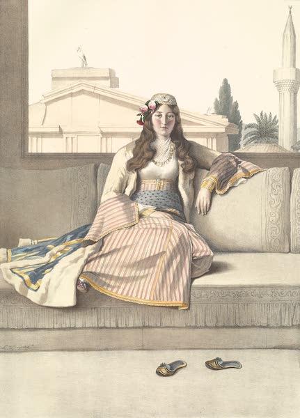 Voyage a Athenes et a Constantinopole - Une Athenienne (1825)