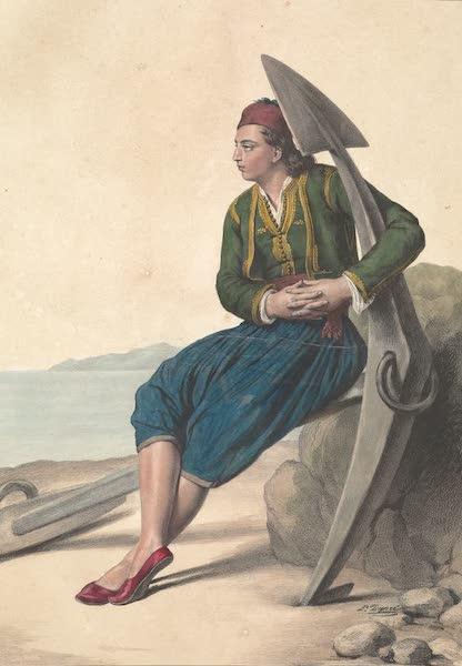 Voyage a Athenes et a Constantinopole - Grec d'Hydra (1825)