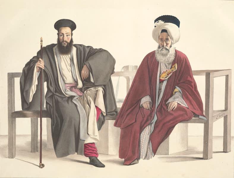 Voyage a Athenes et a Constantinopole - Un Pretre Grec et un Turc (1825)