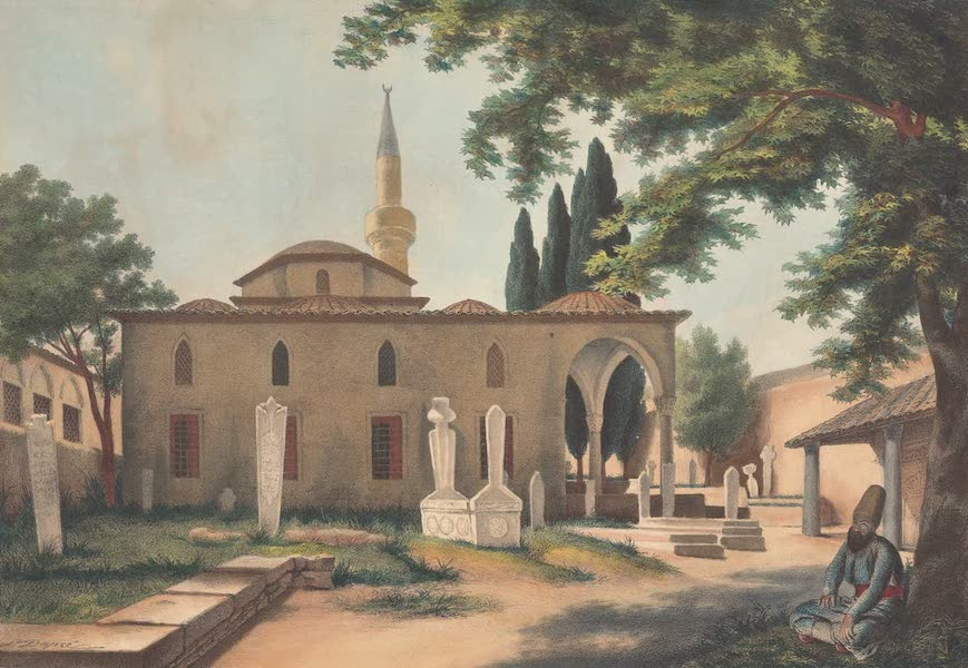 Voyage a Athenes et a Constantinopole - Une Mosquee a Athenes (1825)