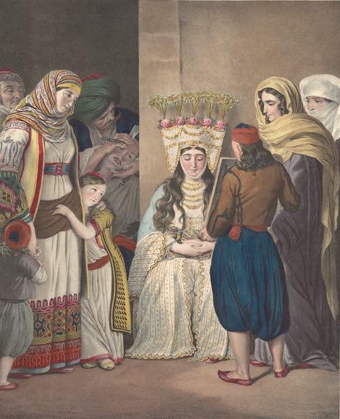 Voyage a Athenes et a Constantinopole - Mariage Grec a Athenes (1825)