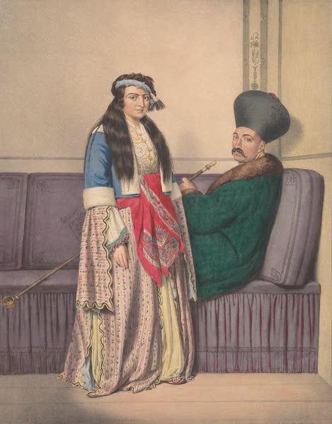 Voyage a Athenes et a Constantinopole - Un Prince Armenien et sa femme (1825)