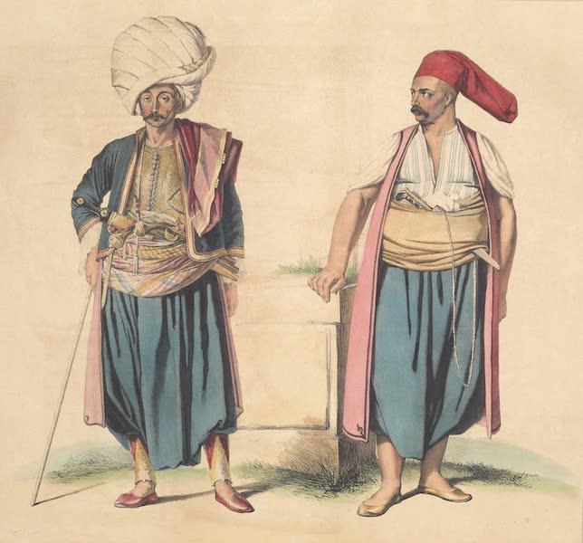 Voyage a Athenes et a Constantinopole - Un Janissaire du Palais et un Bostangi (1825)