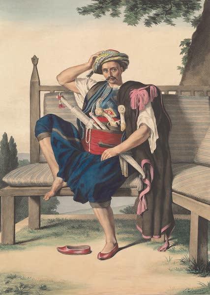 Voyage a Athenes et a Constantinopole - Kalioundji Marin militaire attache a l'Amiraute Ottomane (1825)