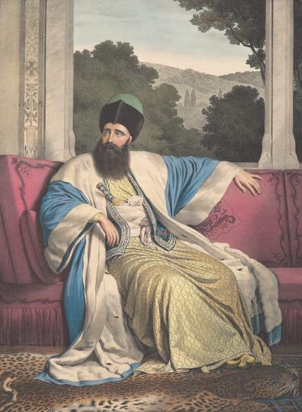 Voyage a Athenes et a Constantinopole - Le Prince de Moldavie, Michel Soutzo (1825)