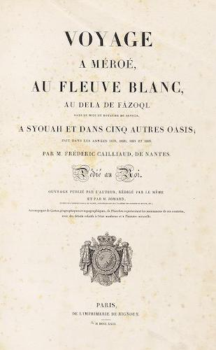 French - Voyage a Meroe - Atlas