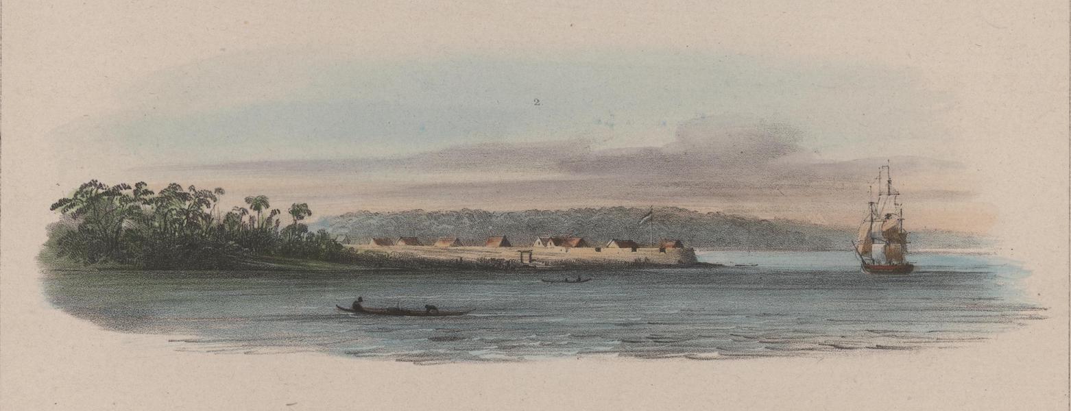 Voyage a Surinam - Redoute de Leyden (1839)