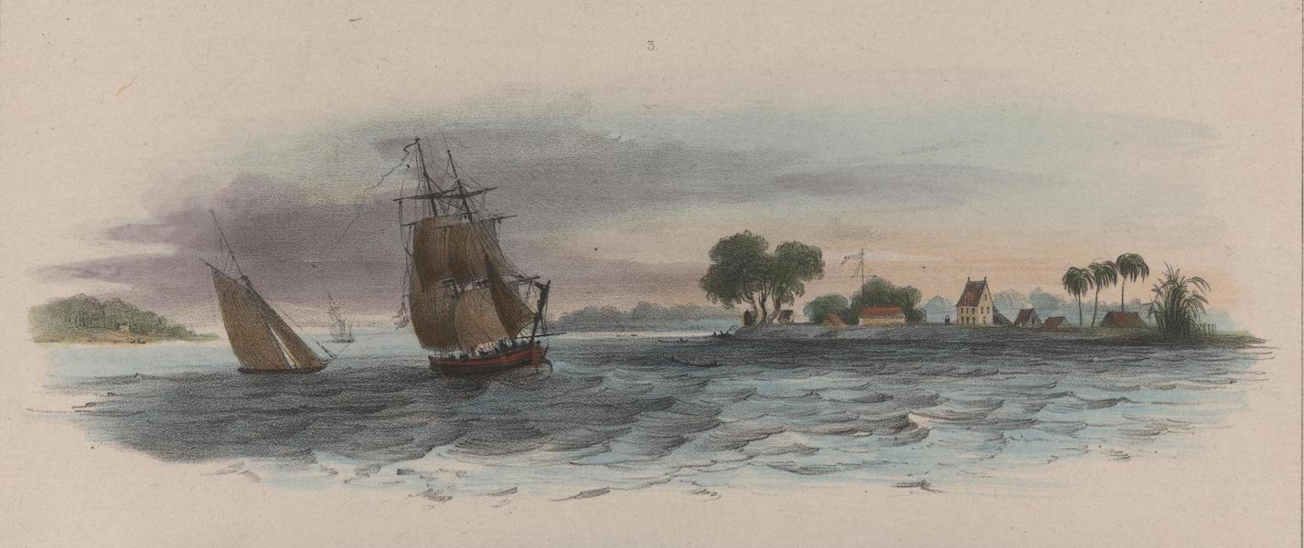 Voyage a Surinam - Forteresse Amsterdam (1839)